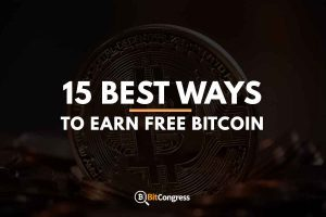 15 BEST WAYS TO EARN FREE BITCOIN