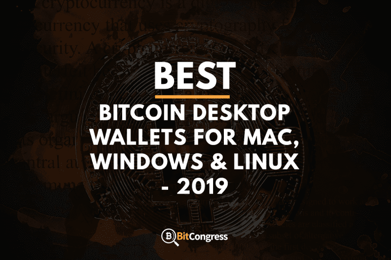 Best Cryptocurrency Wallet For Mac What Coin To Mine 2019